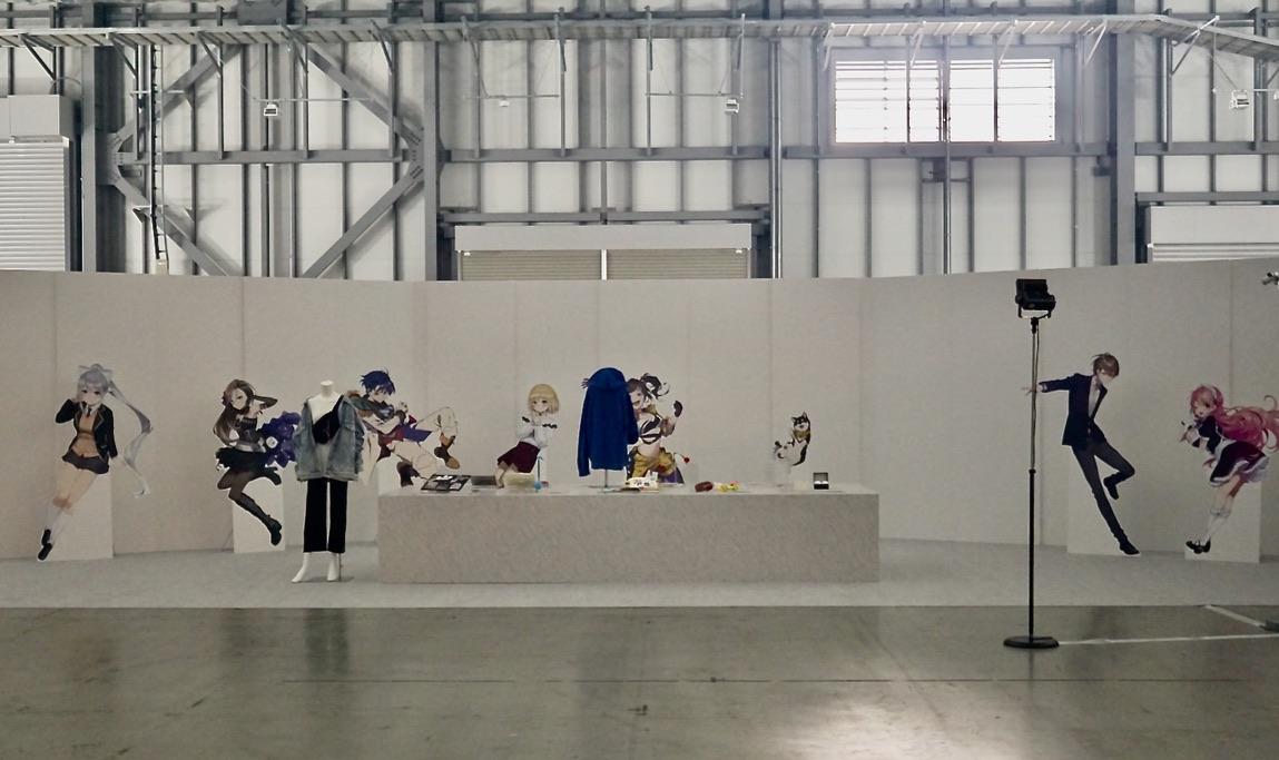 【にじFes2021】美術部会場写真②